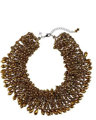 Panacea Crystal Statement Collar Necklace