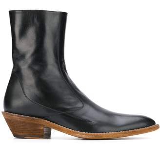Haider Ackermann pointed ankle boots