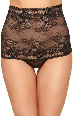 Wacoal Floral Lace High-Waist Thong