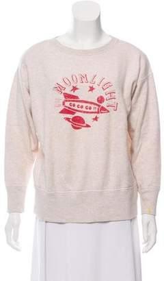 Etoile Isabel Marant Graphic Print Crew Neck Sweatshirt