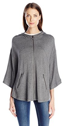 Kensie Women's Drapey French Terry Jacket $40.09 thestylecure.com