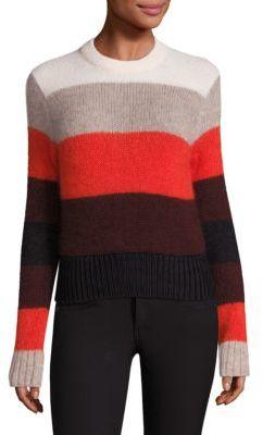 Rag & Bone Britton Striped Pullover $325 thestylecure.com