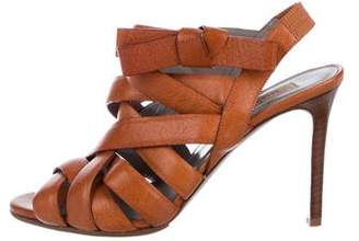 Valentino Leather Strap Sandals