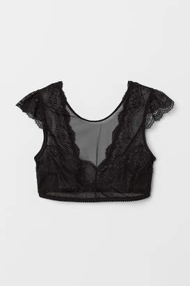 f3bfb3d961588 Lace Bra Top - ShopStyle UK