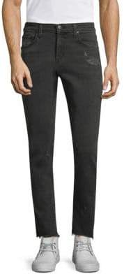 J Brand Tyler Tapered Slim-Fit Ripped Jeans