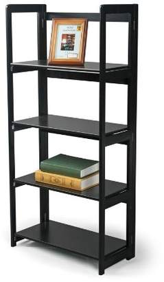 HOME BASICS 4-Tier Folding Bookcase