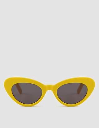 Chimi Eyewear Tiger Round Yellow Sunglasses