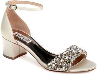 Badgley Mischka Collection Vega Crystal Embellished Sandal