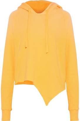 LnA Nev Asymmetric Cotton-Fleece Hooded Sweatshirt