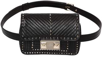 Valentino Mini Ziggy Studded Leather Belt Pack