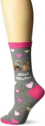 K. Bell Socks Women's Soul Mates Crew