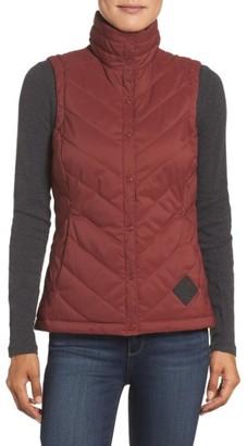 Women's The North Face Rainier Puffer Vest $99 thestylecure.com