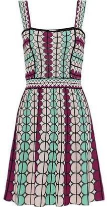 M Missoni Cotton-blend Jacquard Dress