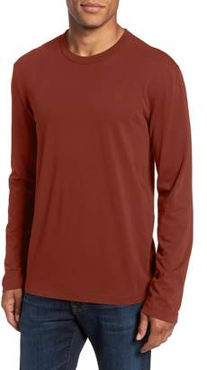 James Perse Long Sleeve Crewneck T-Shirt