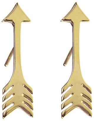 Jennifer Meyer Arrow Stud Earrings - Yellow Gold