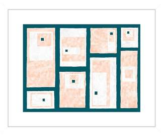 """PTM Images Coral Boxes Framed Giclee Print - 22\""""x18\"""""""