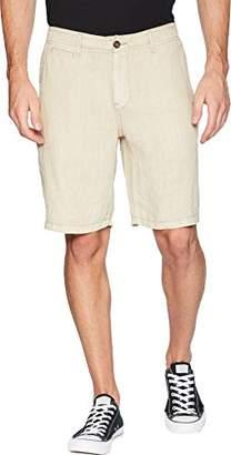 Lucky Brand Men's Laguna Linen Flat Front Short