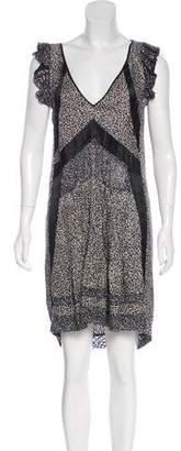 Balenciaga Silk Patterned Dress