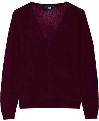 Line V-Neck Cashmere Sweater