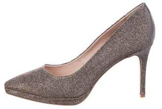 Louise et Cie Glitter Pointed-Toe Pumps