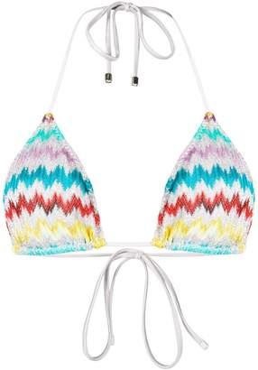 d7771b7693620 Missoni Mare striped triangle bikini top