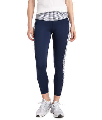 Vineyard Vines Gingham Full Length Sport Leggings