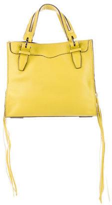 Rebecca Minkoff Mini Leather Satchel $175 thestylecure.com