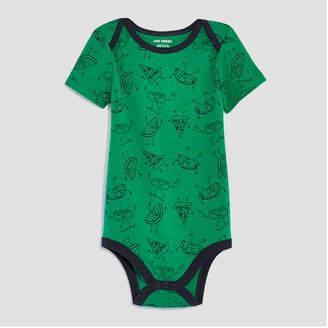 Joe Fresh Baby Boys Short Sleeve Bodysuit