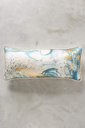 Anthropologie Marbled Cosima Pillow
