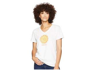 Life is Good Shine On Sun Crusher Vee T-Shirt