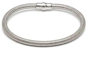 Durrah Jewelry - Silver Silk Bracelet
