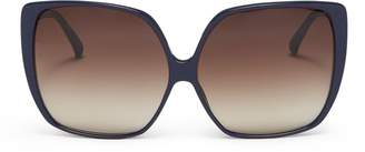 Linda Farrow Oversized acetate square sunglasses