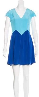 Madison Marcus Colorblock Swing Dress