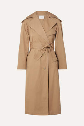 Vince Cotton-canvas Trench Coat - Sand