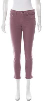 Rag & Bone Zipper Capri Mid-Rise Skinny Jeans w/ Tags