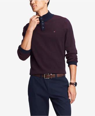 Tommy Hilfiger Men Bridge Mock-Collar Sweater