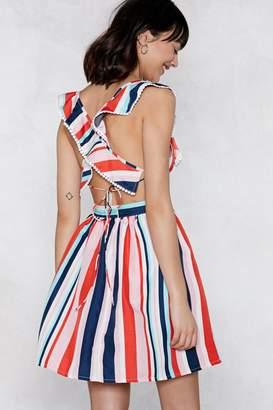 Nasty Gal Stripe That's It Mini Dress