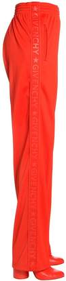 Givenchy Rubberized Logo Neoprene Track Pants