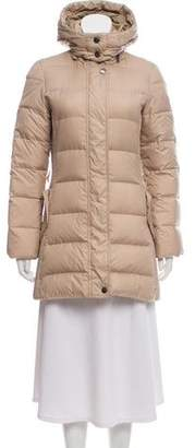Burberry Down Hooded Coat