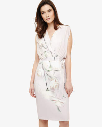 Phase Eight Sorell Wrap Floral Print Dress