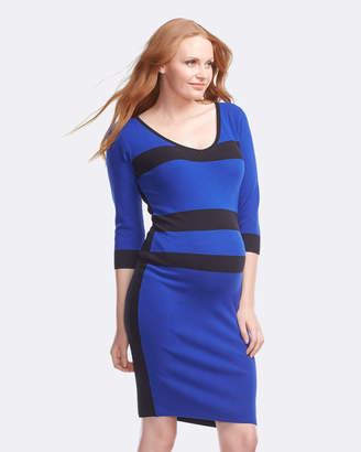 Soon Belle Zip Maternity Dress
