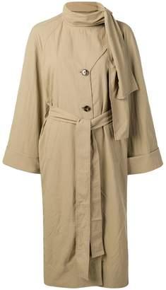 BEIGE Rejina Pyo bow tie trench coat