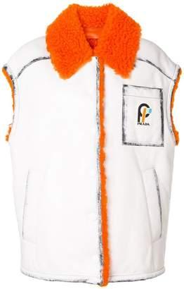 Prada oversized vest