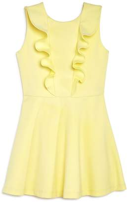 Bardot Junior Girls' Clarissa Ruffled V-Back Dress