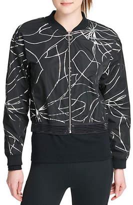DKNY Foil Print Jacket
