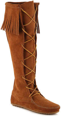 Minnetonka Front Lace Up Western Boot - Women's