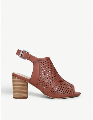 Nine West Nylah faux-leather heeled sandals