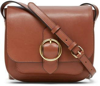 Banana Republic Leather Saddle Bag