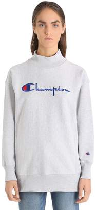 Champion Oversize Logo Cotton Sweatshirt