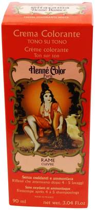 PPD SITARAMA Henné Color - Henna Colouring Cream - Natural Copper - Free from oxidants, ammonia, p-phenylenediamine , resorcinol, synthetic fragrances, and heavy metals
